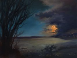 Moonscape by N8grafica