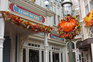 Halloween at The Magic Kingdom by WDWParksGal-Stock