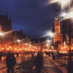 Gdansk by night by Pokakulka