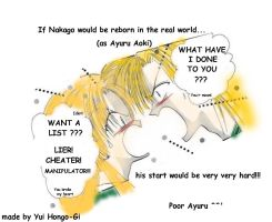 If Nakago would reborn in the real world... by YuiHongo--Gi