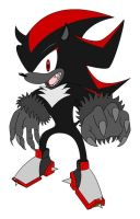 Werehog Shadow Colour by DragonEmblem