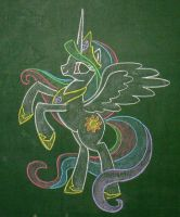Princess Celestia by Azdaracylius