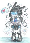Chibi Transformers Jazz by Kittychan2005