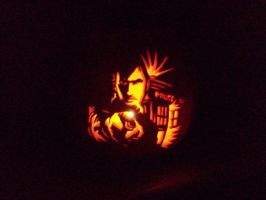 Doctor Who Pumpkin by technocupcakes