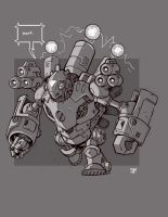 Mecha Sketch 11 by cwalton73