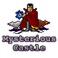 Mysterious Castle Game Icon by math0ne