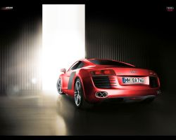 Audi Red8 by xiquiel