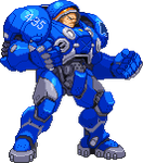 Tychus Findlay - Capcom style by steamboy33