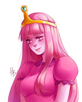 Princess Bubblegum by HaloBlaBla