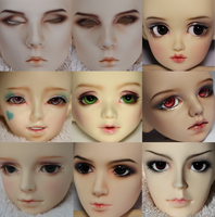 Faceup Commissions by Hisomu