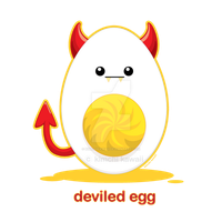 Deviled Egg by kimchikawaii