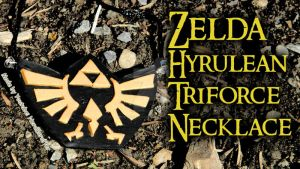 Legend of Zelda Necklace (tutorial) by NerdEcrafter