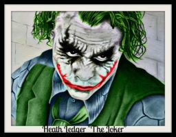 Heath Ledger Joker by jokercrazy