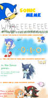 Sonic Meme! by SpitFireLex