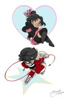 Motorcity OC chibis by Rice-Lily