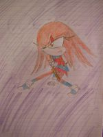 Scars the Echidna by Cool-Mojo-Sis