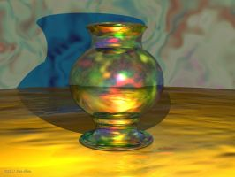 Vase Colorful by Don64738