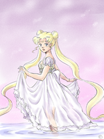 Princess Serenity by TriaElf9