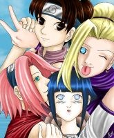 The Konoha Gals by go-chan