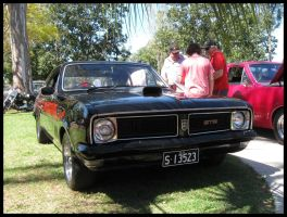 Old Holden GTS  Monaro on show by RedtailFox