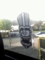 tribal on a bus by markfrancis