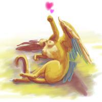 sphinx heart by siaorie