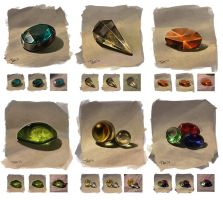 From nature: gems by JuliaTar