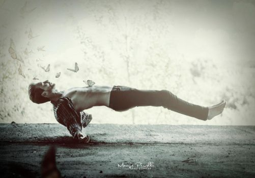 Poem of levitation by Piroshki-Photography