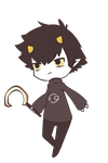 little Karkat by disturbedface