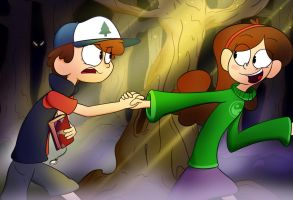 Mystery Twins by asclepiusartist