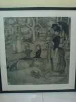 homage to george seurat XP2 by MadBoxx