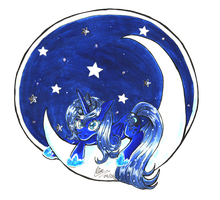 Princess Luna by Memokkeen
