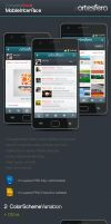 Complete Mobile Interface by Artesfera