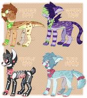 Spooky Pups Auction - CLOSED by ghostblush