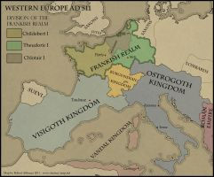 AH - Western Europe AD 511 by Sapiento