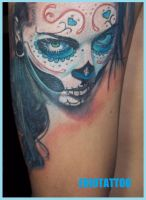 sAnTa muErtE tAtToO by eriotattoo