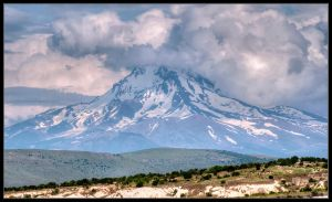 Mount Erciyes by Dorcadion