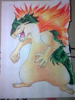 Typhlosion by bowseganonlink