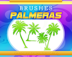 +BRUSHES: Palmeras by CAMI-CURLES-EDITIONS