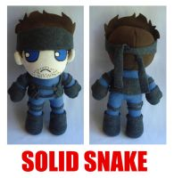 Solid Snake by rosey-so-silly