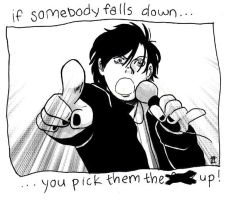 Do what Gerard says, honey. by unleash-the-bats