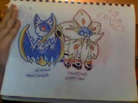 Sungaleo And Lunala by Casey02kelly