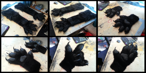 Black Handpaws by CuriousCreatures