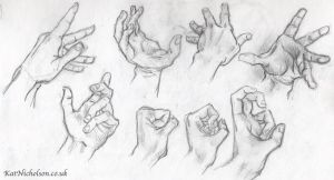 Hand studies March 2015 by Kat-Nicholson