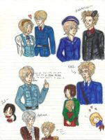 Nordics, Baltics, and Others: Colored by bookworm555