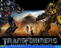 Current Desktop - March 2009 by Rodimus80