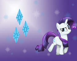 MLP: Rarity Wallpaper by Togekisspika35