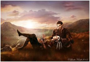 A Moment Of Peace by Isriana