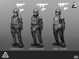 Ekverian Force (Concept) by GreenFireArtist