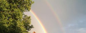 Two Rainbows In The Sky by Mayorati
